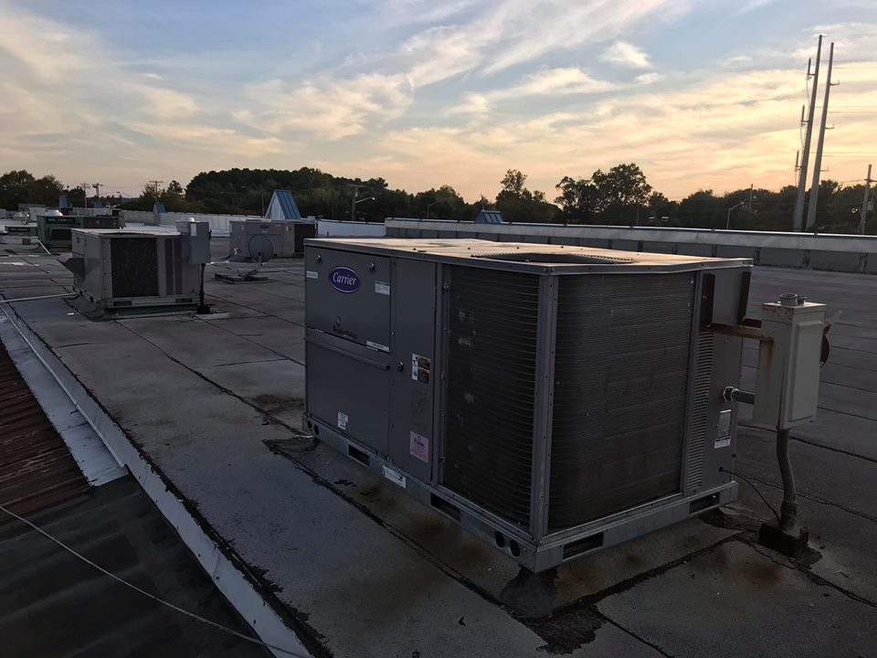 rooftop unit installation commercial air conditioning
