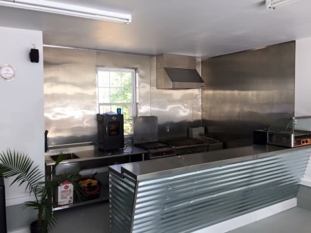 Commerical kitchen installation