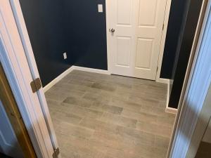 bath new flooring installation