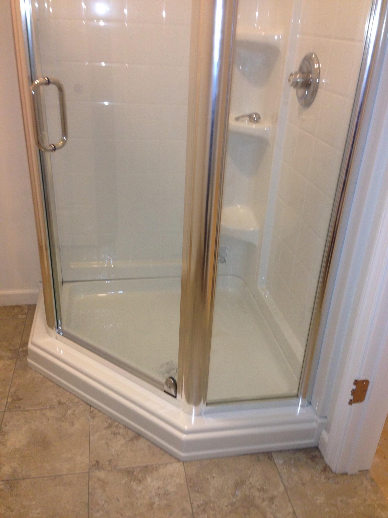 new shower design