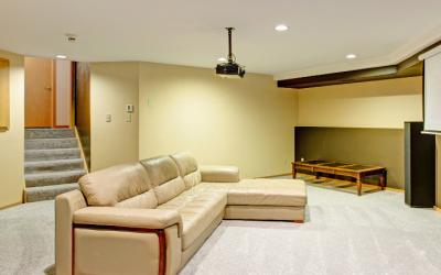 Basement Finishing furnishing