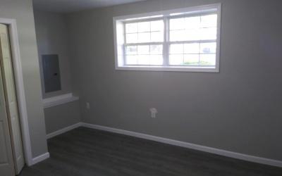 natural light renovated finished basement