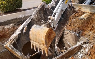 commercial excavating southern md property maintenance