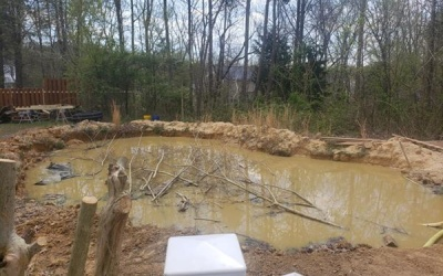Pool removal before