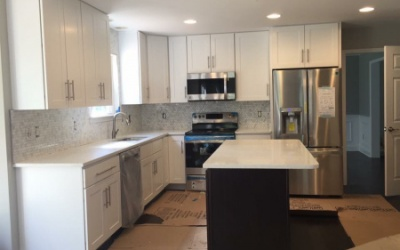 kitchen remodel with new appliances southern maryland contractors