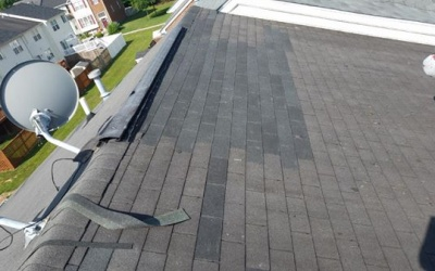 New roofing job